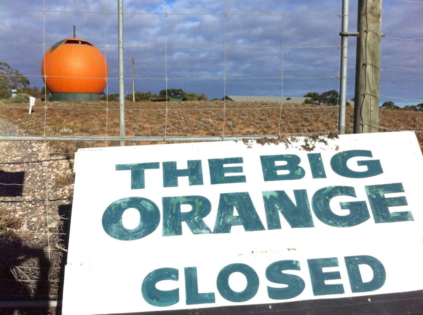 Big Orange is closed!