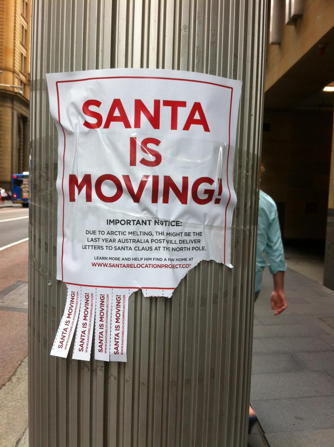 Santa's Moved!