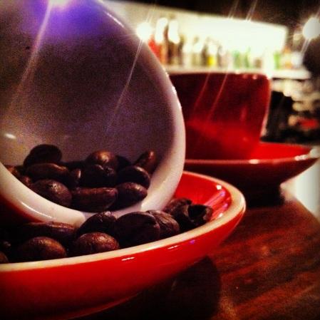 Making Coffee at Sydney Bar School