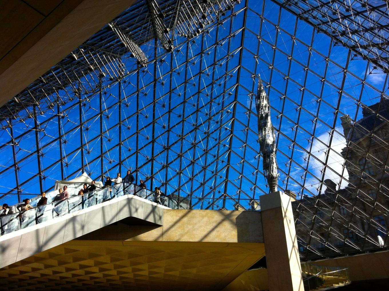 Lhe Louvre Pyramid