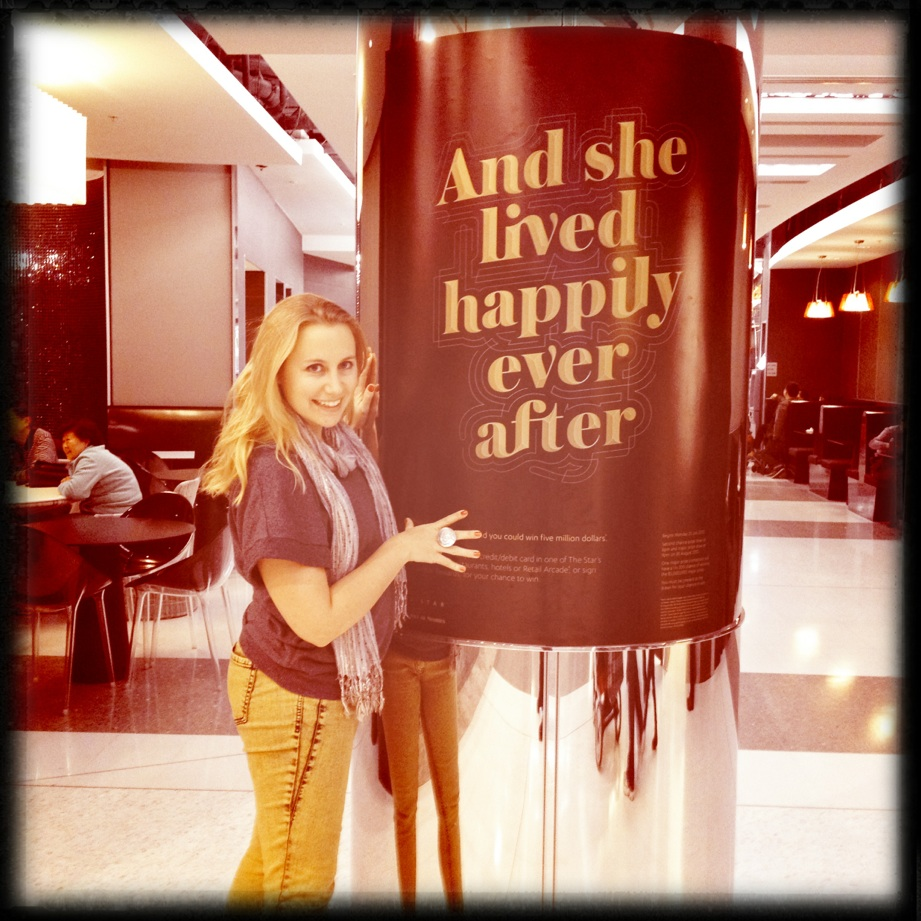 and she lived happily ever after!