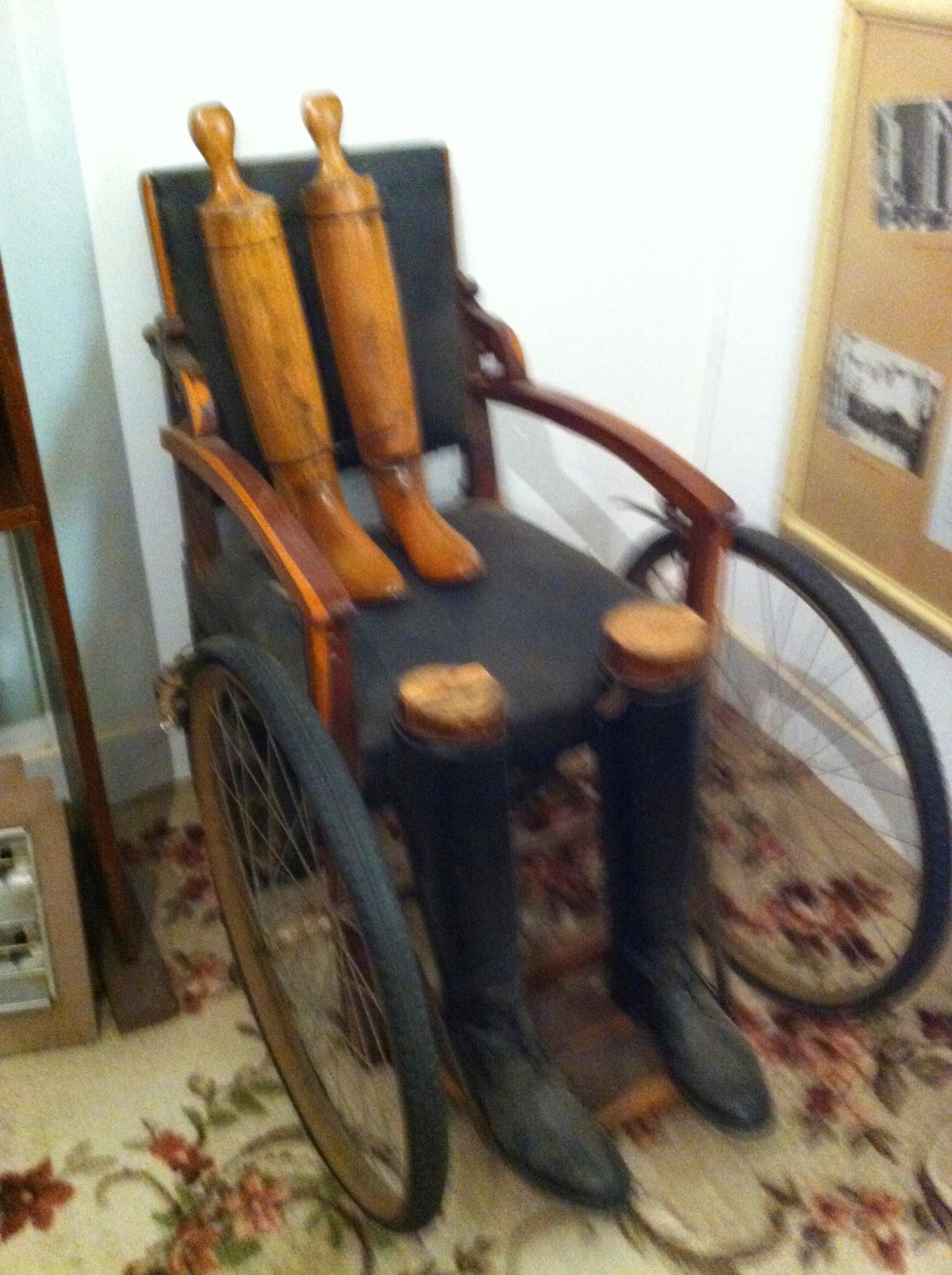 weird horror movie wheel chair