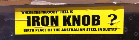 where the bloody hell is Iron Knob