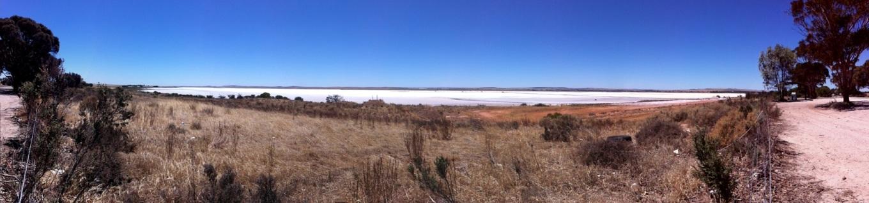 inland salt flat