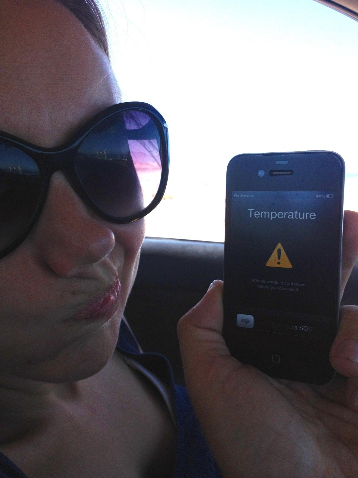 phone overheated