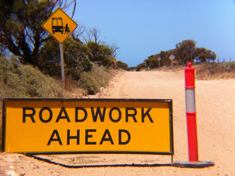 Roadworks?