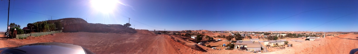Coober Pedy from Above
