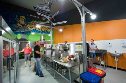 YHA Port Lincoln Kitchen