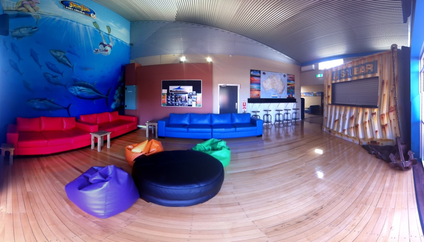YHA Port Lincoln Lounge Room