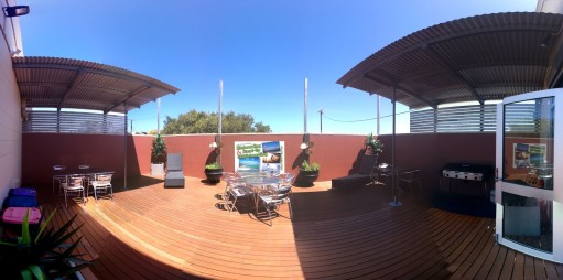 YHA Port Lincoln Outdoor Area