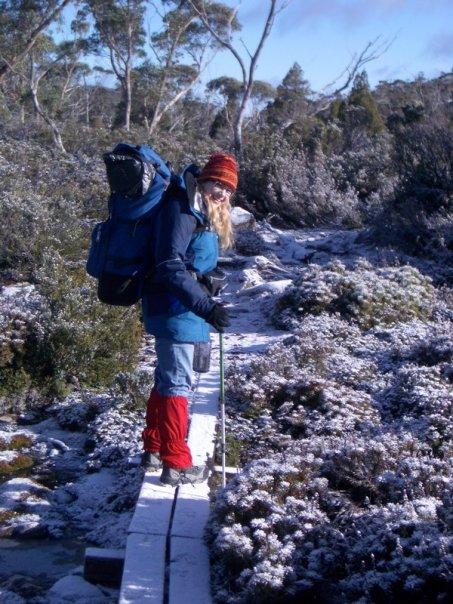 Tassie bush snow walking