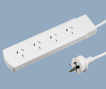 Australia four outlet power strip board