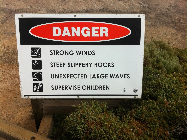 kangaroo island danger