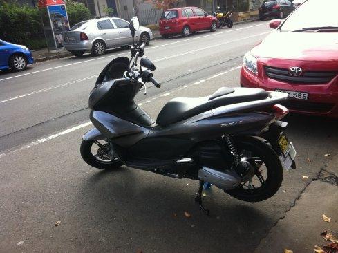 my Sydney Scooter