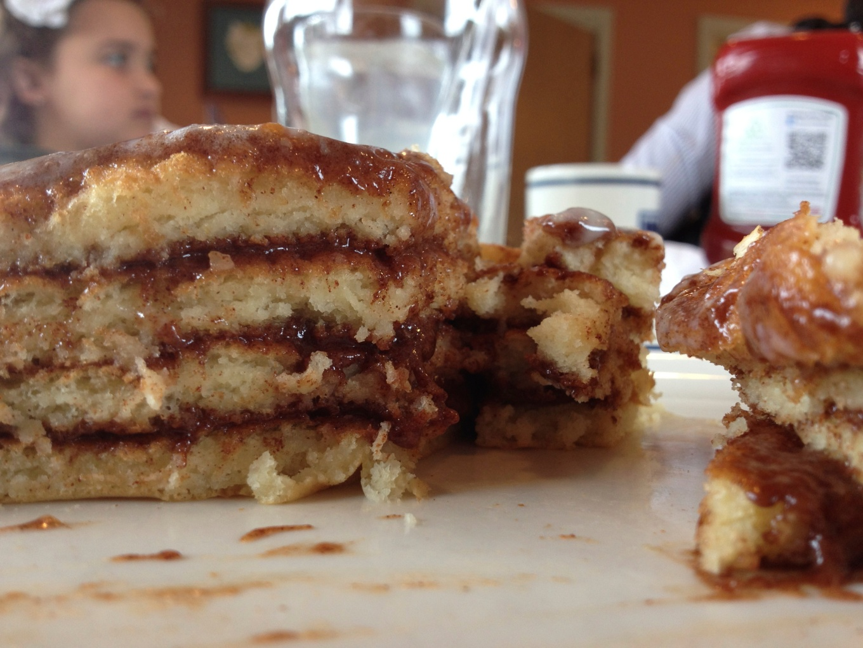 pancakes with sugar