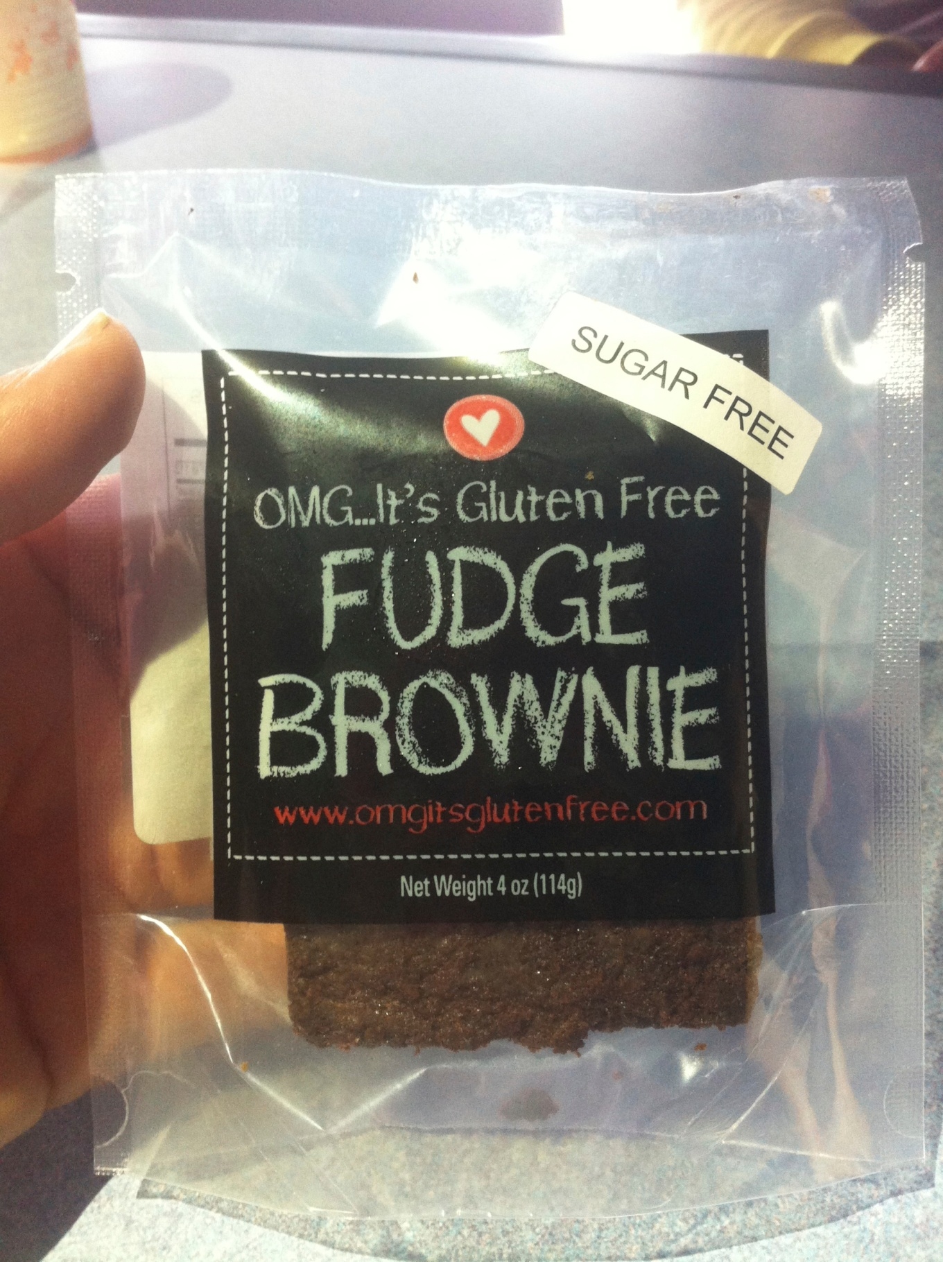 Sugar Free Fudge Brownie