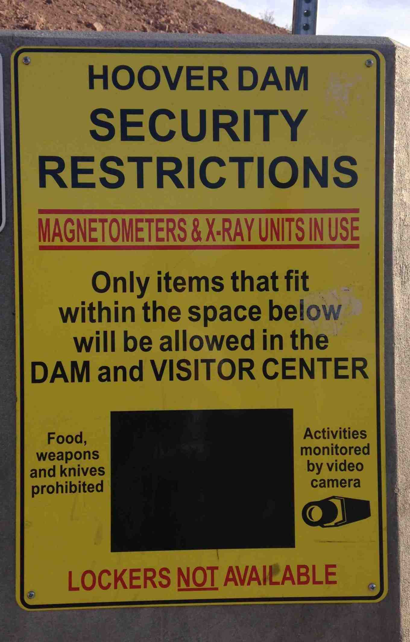 SECURITY RESTRICTIONS