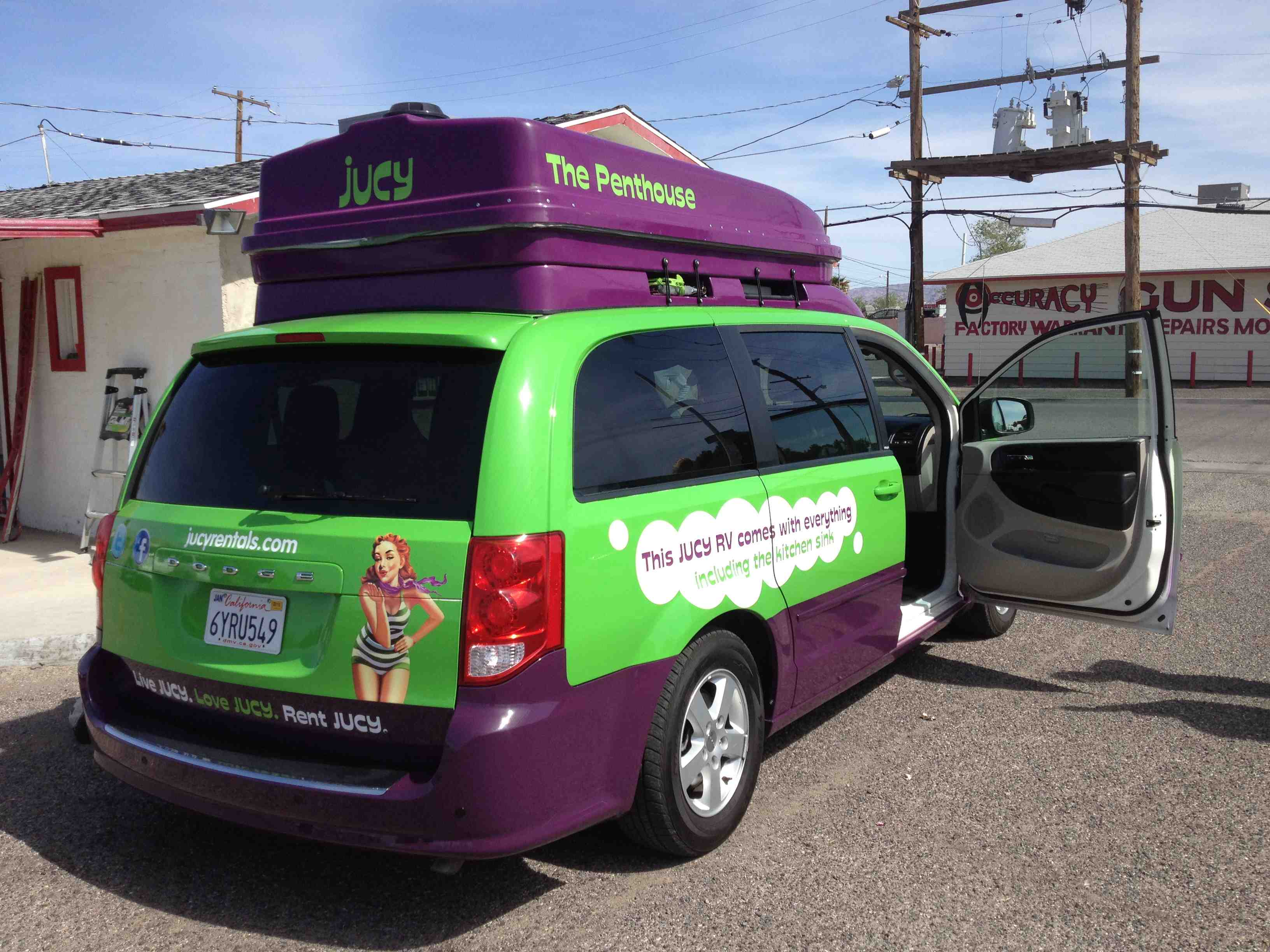 Jucy Relocation Vans Are Awesome