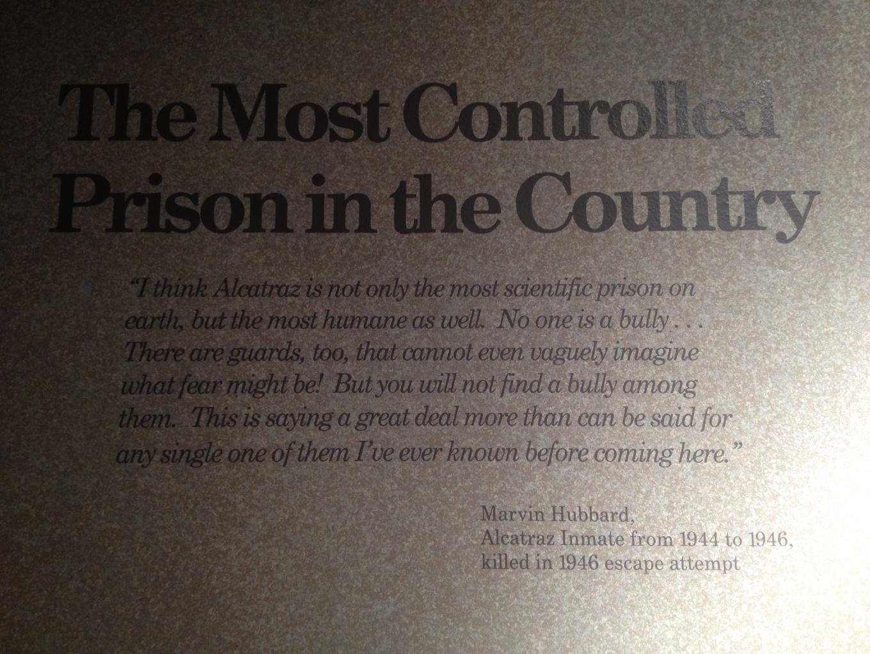 Alcatraz humaine?
