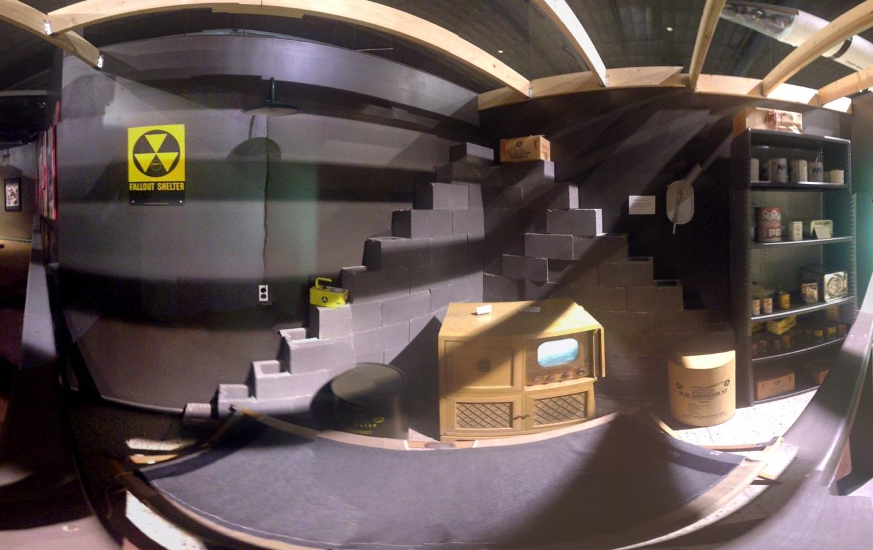 Fallout shelter basement