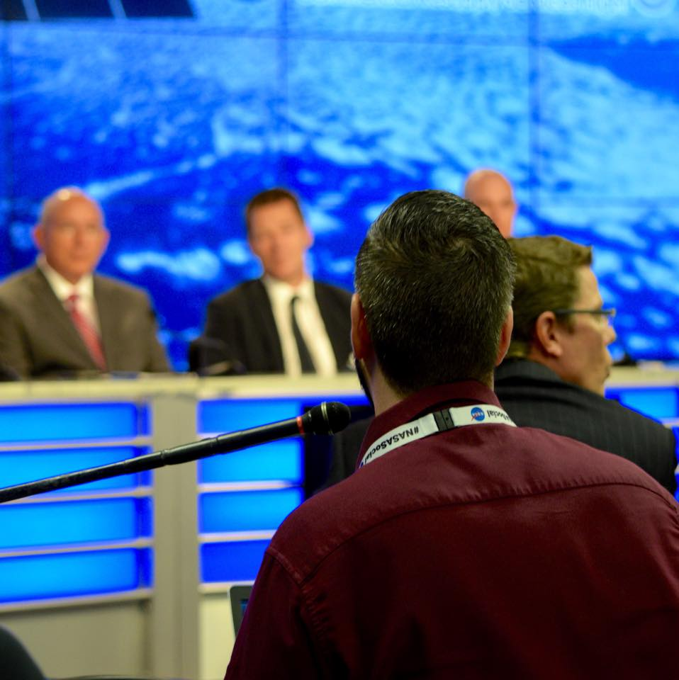 Ask Questions at NASASocial